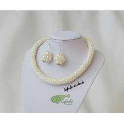 Wedding set necklace and Earrings